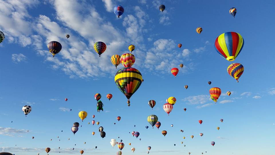 An Albuquerque October: Perfect Weather, Balloon Fiesta