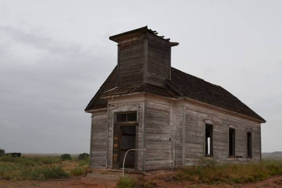 Abandoned Presbyterian Church in Taiban