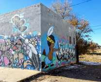 Shiprock graffiti art