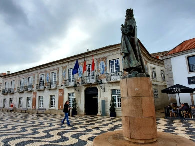 Main square in Cascais