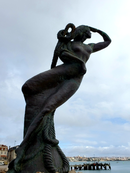 Sculpture in Cascais