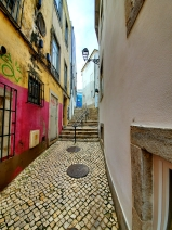 Quaint walkways in Cascais