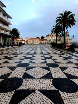 Tiled walkways of Cascais