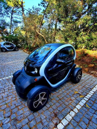 Electric car rental in Sintra