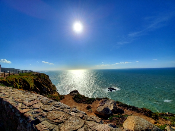 Ocean views from Cabo da Roca